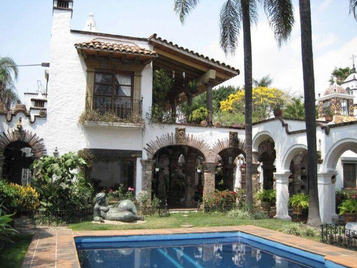 Casa Mexicana De Estilo Colonial Casas Casas De Estilo Espanol Y Casas Coloniales