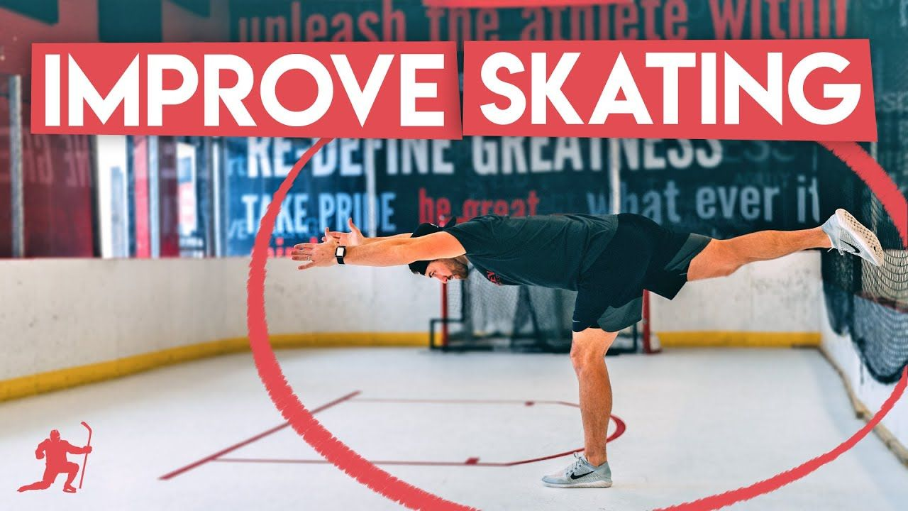 Do These 5 Exercises To Improve Your Skating At Home Youtube In 2020 Hockey Training Exercise Train Hard