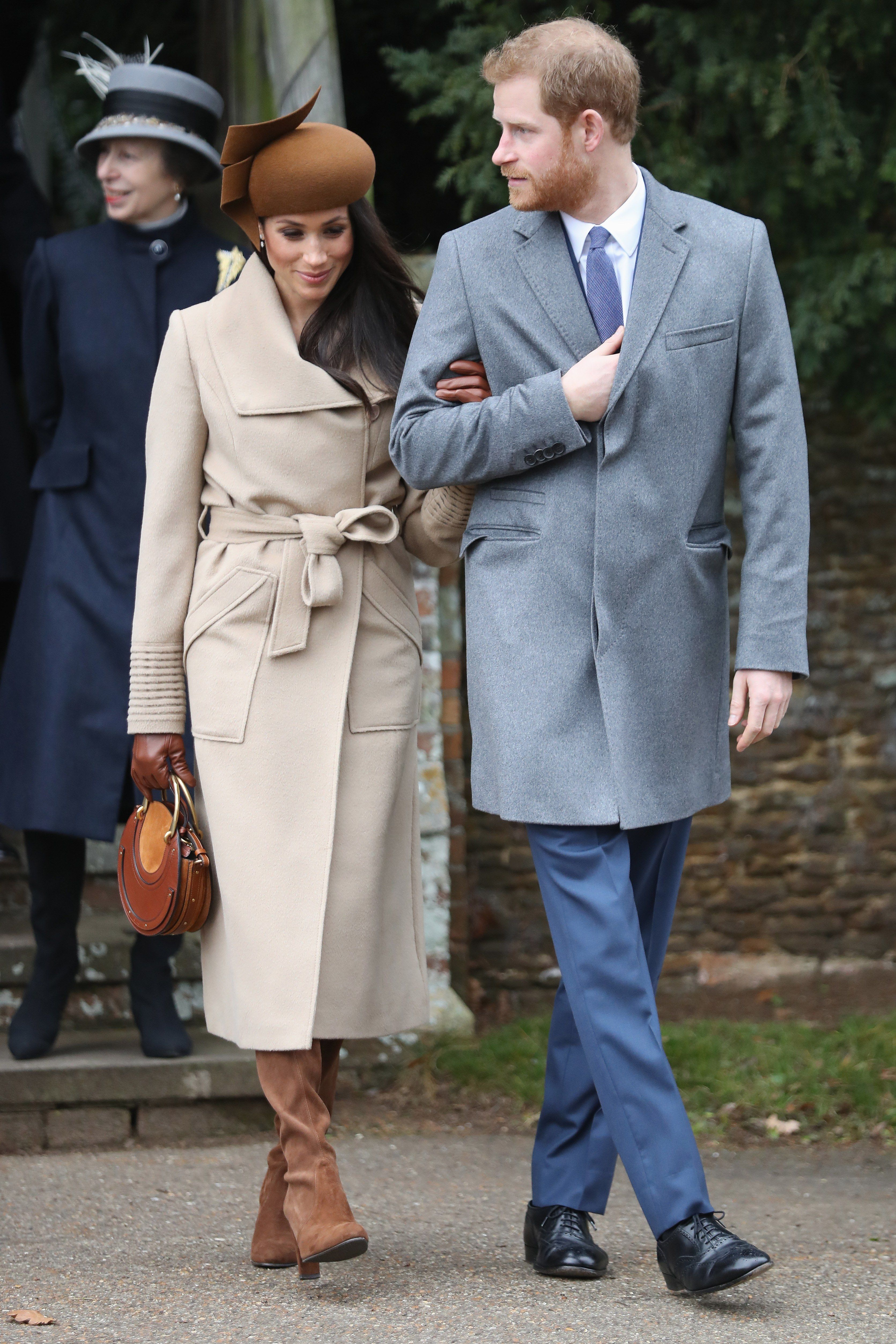 Members Of The Royal Family Attend St Mary Magdalene Church In Sandringham c963b2bd20a5