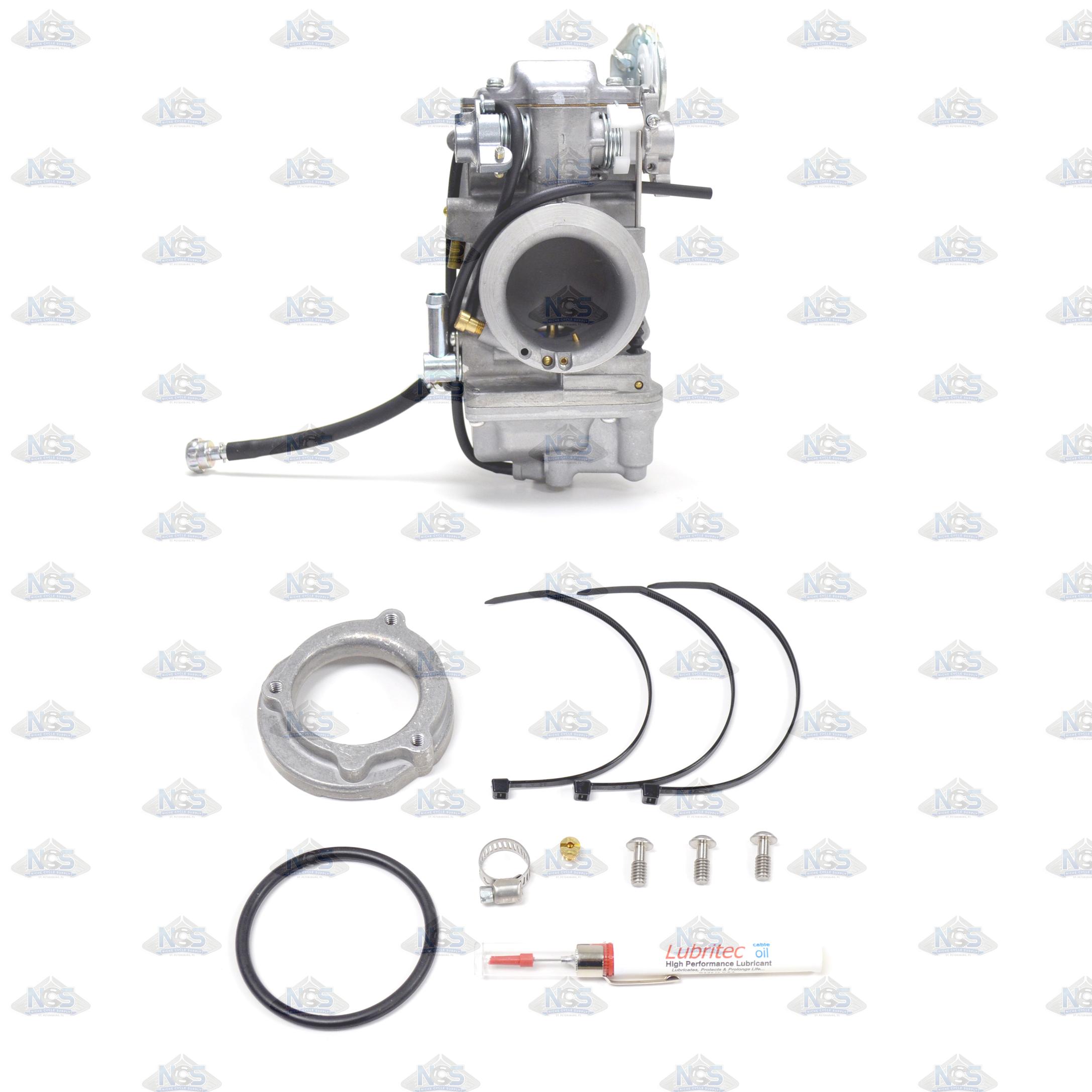 Honda CB350/CL350/CB360 Mikuni VM28 28mm Round Slide Carburetor Kit