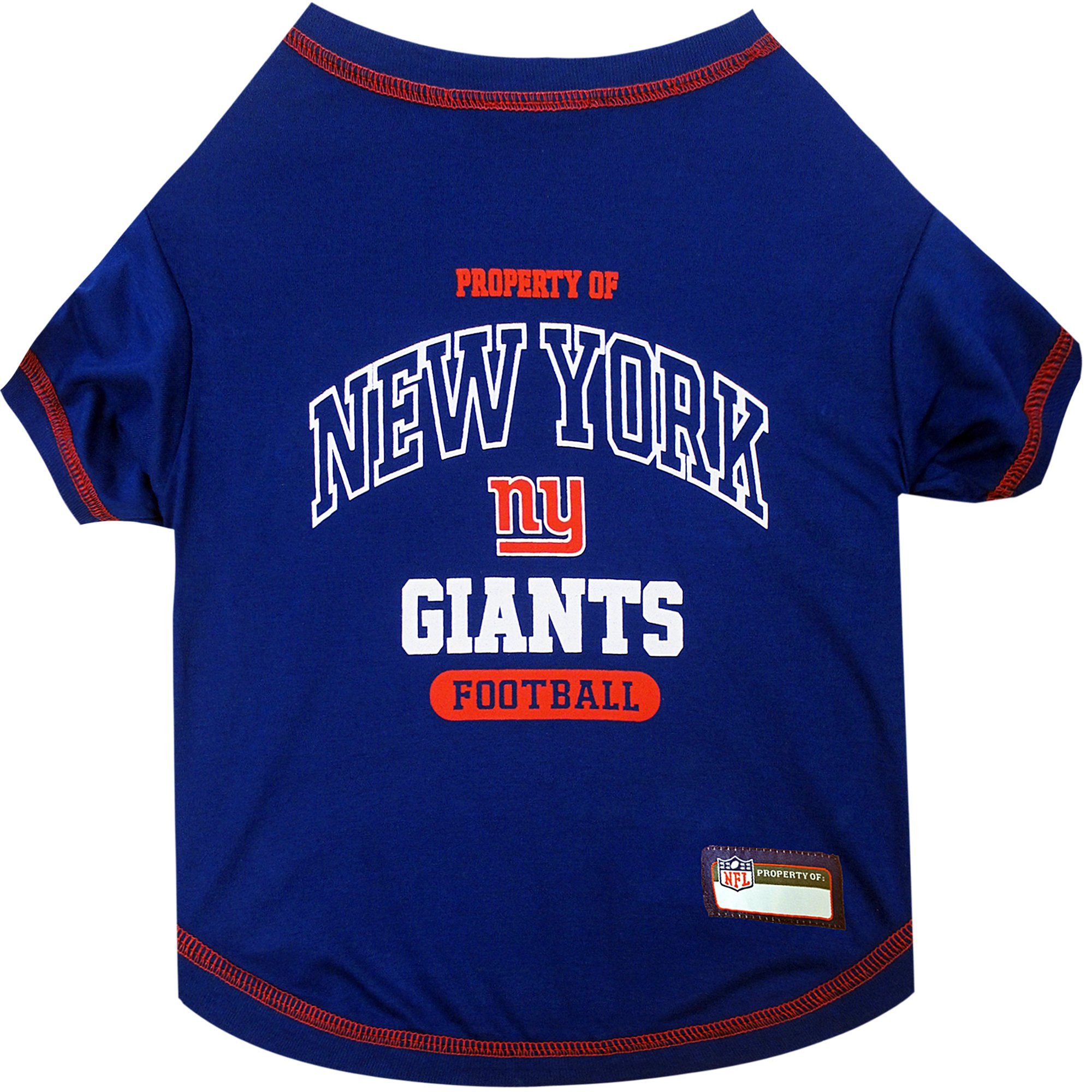 sports shoes 345a2 7ca18 Pets First New York Giants T-Shirt, X-Small in 2019 ...