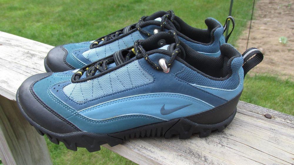 78d53161d1d NIKE ACG SPD Women s Blue Mountain Bike Cycling Shoes With Cleats Size 8   NIKE  Mountain