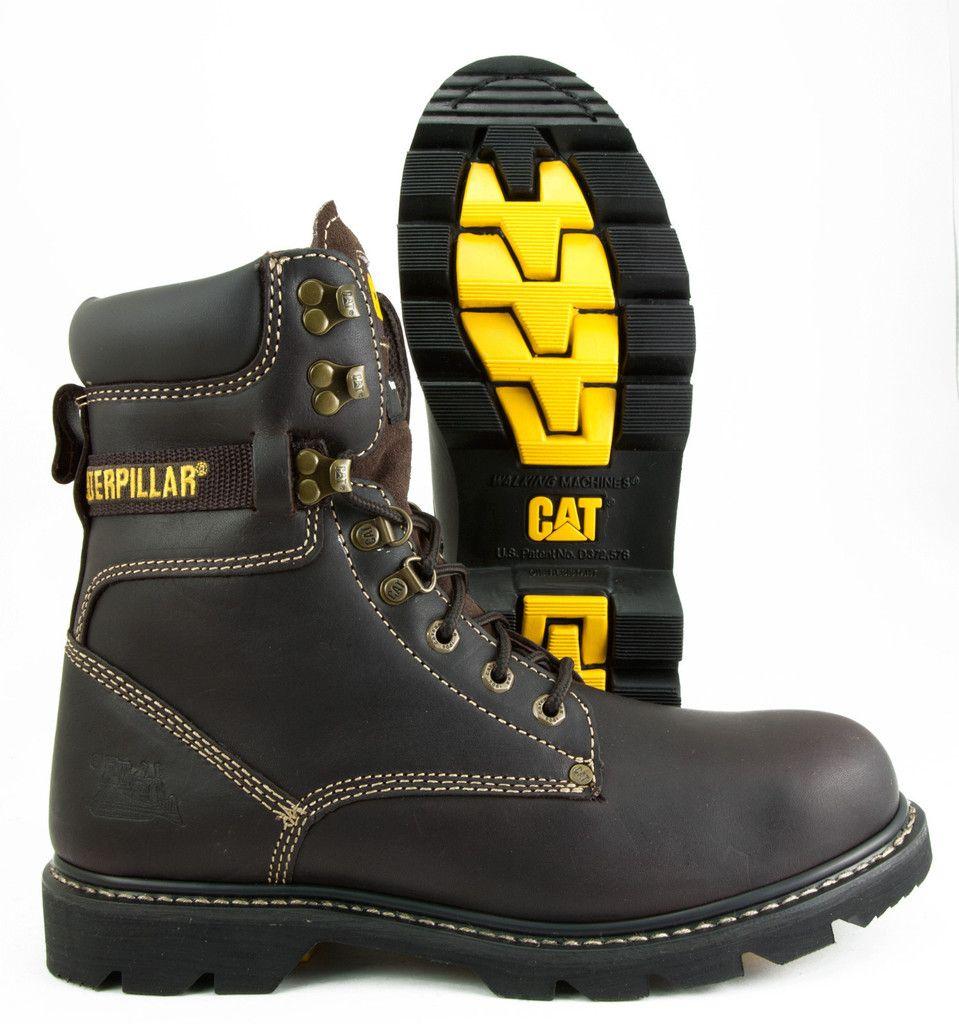 8dd1fb0f805 Caterpillar Indiana FX Work Boot - Deep Brown | Work Boots | Boots ...