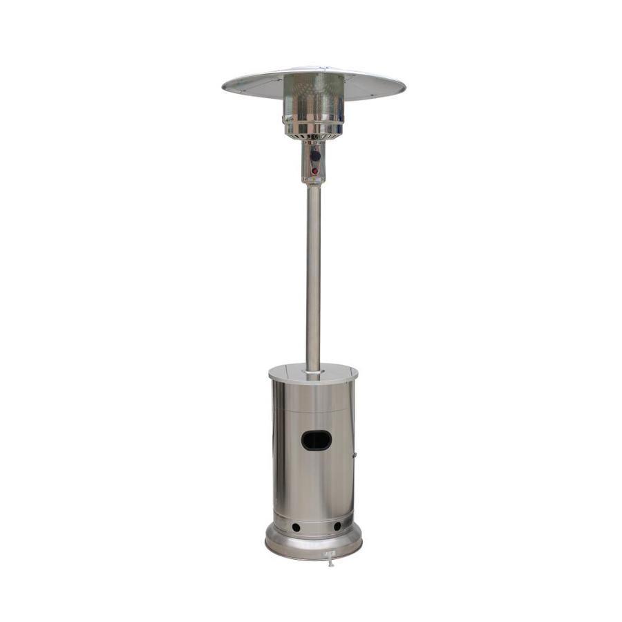 Garden Treasures 48000 Btu Stainless Steel Floorstanding Liquid Propane Patio Heater Lowes Com Patio Heater Propane Patio Heater Space Heater