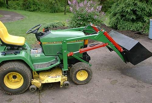 how to build a loader for a garden tractor plans how to build deck - Garden Tractor Front End Loader Kits