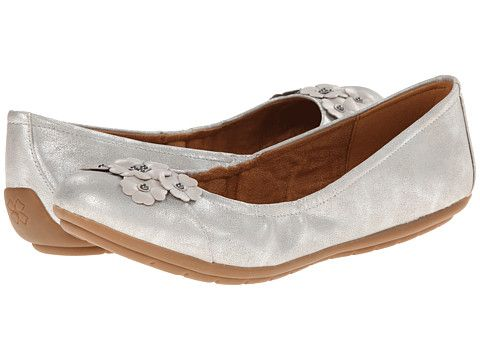 Womens Shoes Naturalizer Utopia Silver Smooth