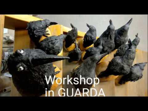Raben Workshop in Guarda - YouTube