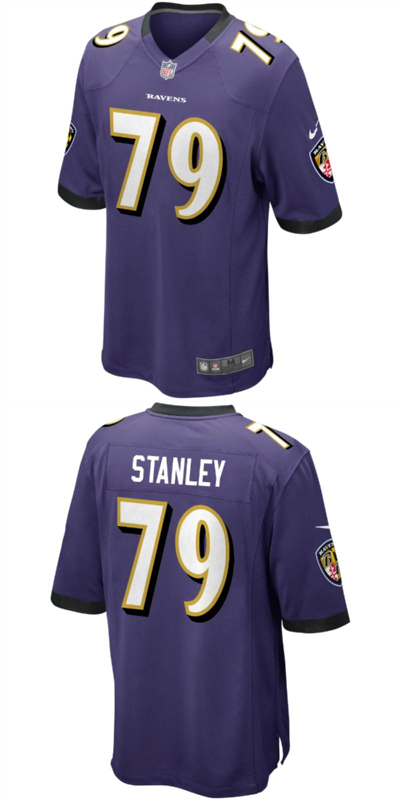 New UP TO 70% OFF. Ronnie Stanley Baltimore Ravens Nike Game Jersey