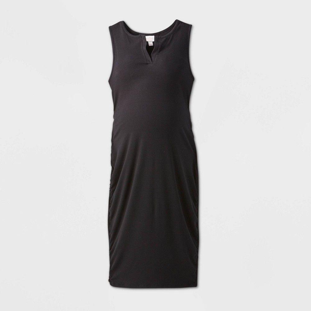 Sleeveless Rib T Shirt Maternity Dress Isabel By Ingrid Isabel Black Xl Dresses Midi Tank Dress Maternity Dresses [ 1000 x 1000 Pixel ]