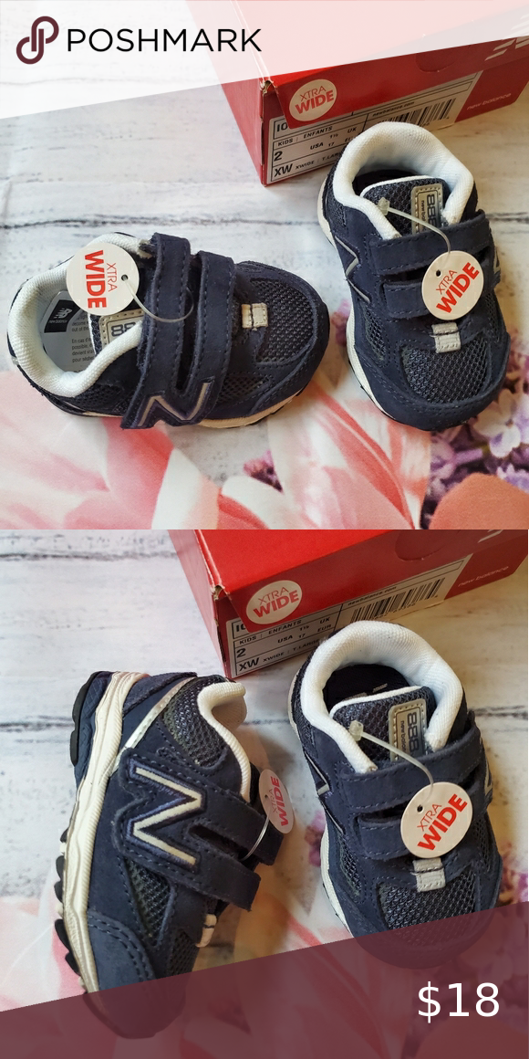 New in box new balance shoes size 2 xw