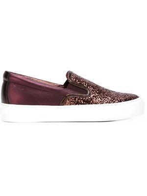 a3c463ea520 tenis sin cordones con glitter | The Shoes I need en 2019 | Moda ...