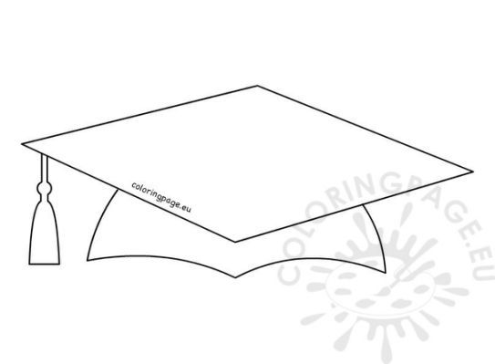 graduation cap pattern printable kg art graduation school