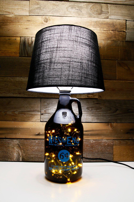 Growler Lamp Table Lamp Custom Made