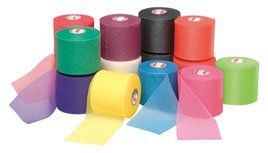 Mixed Colors Bulk Prewrap For Athletic Tape 12 Rolls Rainbow Pre Wrap Color Mixing Medical Supplies