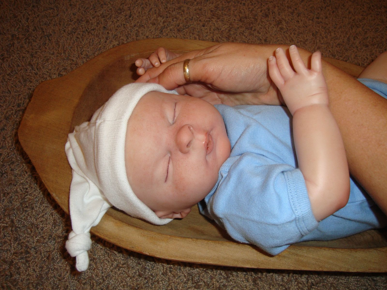 Reborn Baby Doll Jack OOAK Bald or Hair Weighted boy or girl you choose | eBay