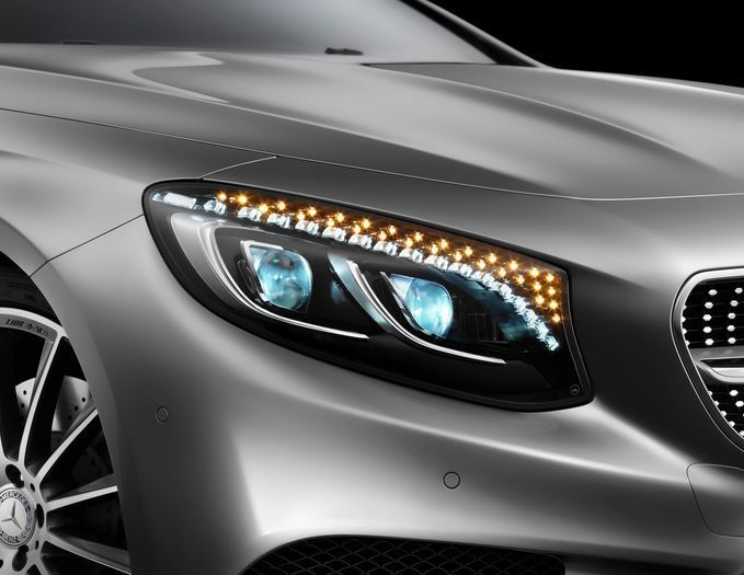 10 Outrageous Luxury Car Features With Images Mercedes S Class Coupe