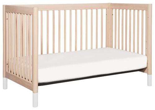 'Gelato 4-in-1 Convertible Crib with Toddler Bed Conversion Kit by Babyletto. @2Modern'