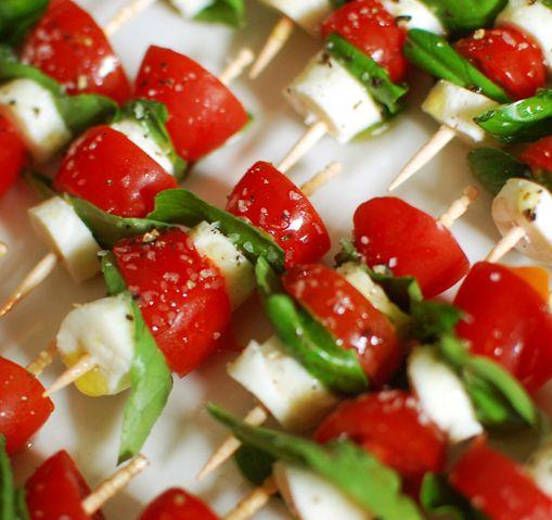 Mini Caprese Salad Recipe