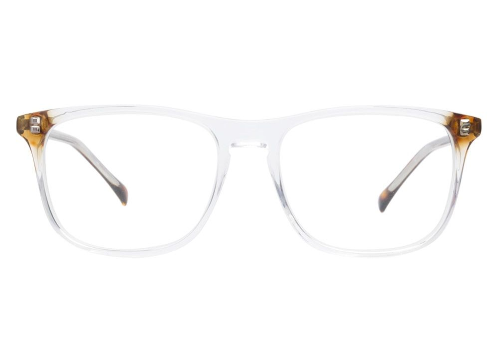 f6b75e435c4453 Carrera 6197 KCH Crystal Havana eyeglasses are clearly stylish. This  wayfarer style frame has a