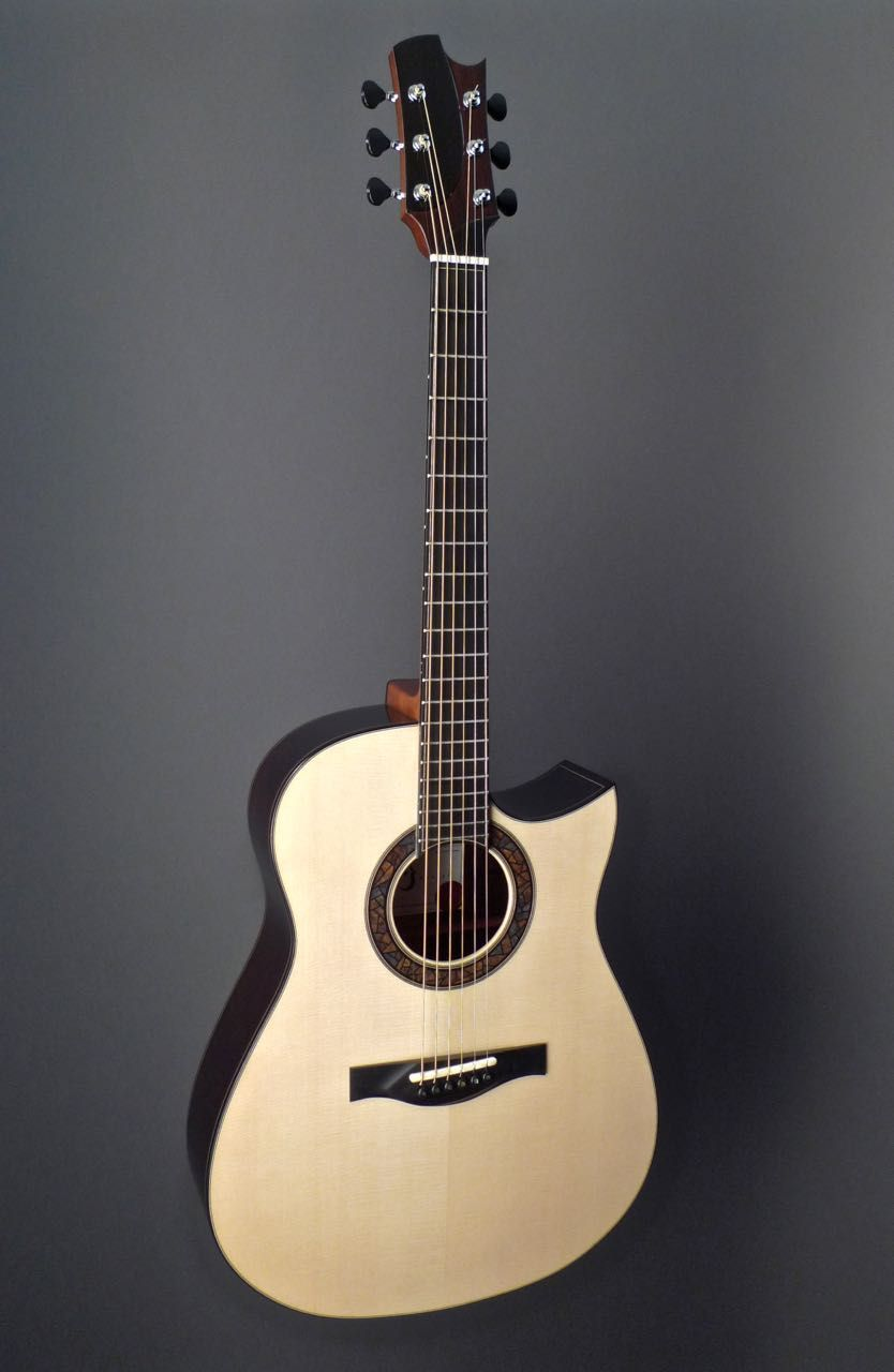 2015 Kostal Modified Dreadnought Brazilian Rosewood German Spruce Guitar Acoustic Guitar Acoustic