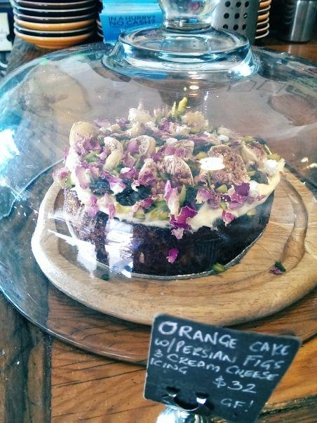Black star orange cake recipe