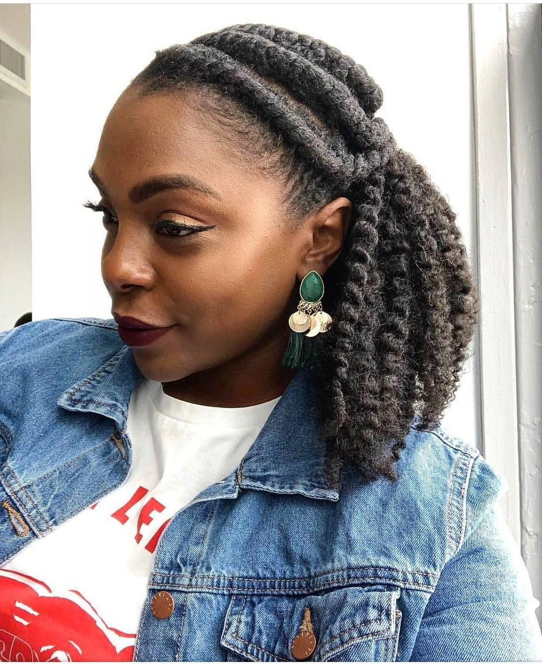 Pin by Momo Meadows on Natural hairstyles to try  Pinterest