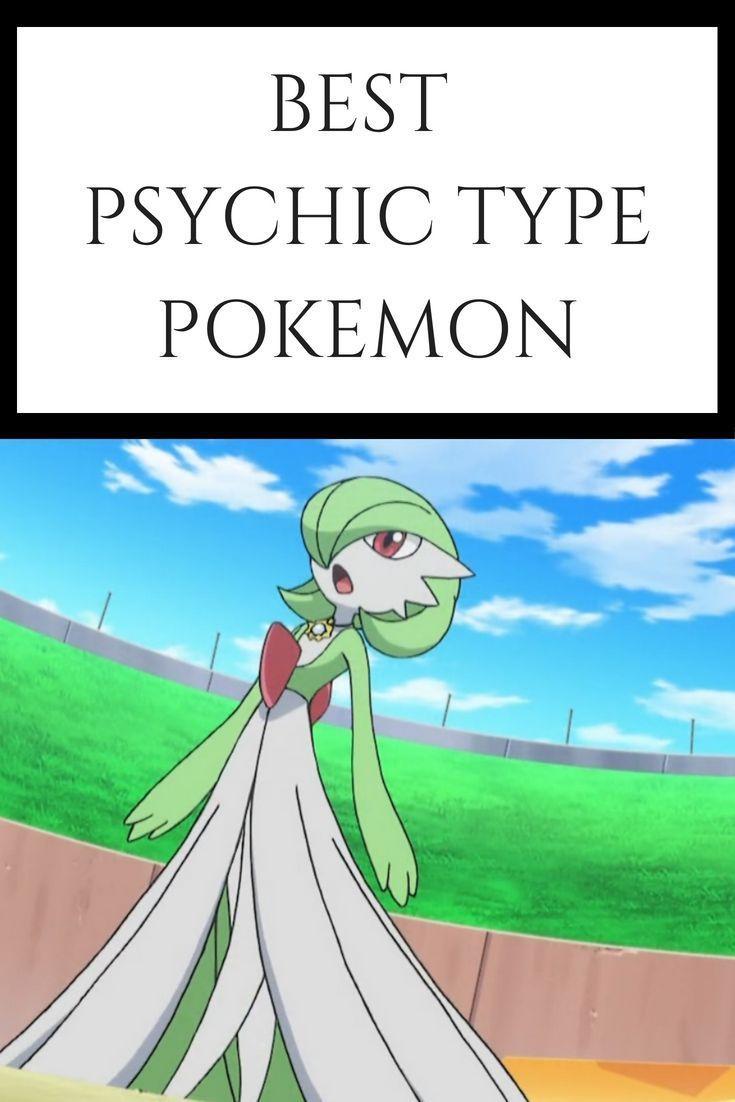 Best psychic type pokemon of all time type pokemon
