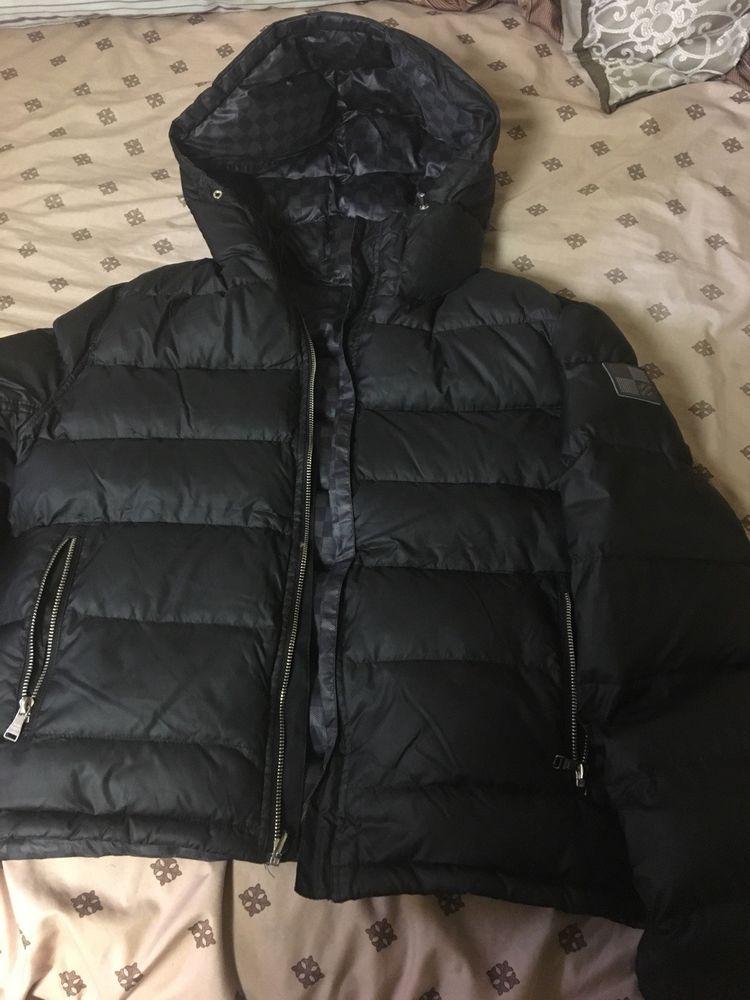 2530189c8f56 Louis Vuitton Damier Graphite Reversible Down Jacket Size 50  fashion   clothing  shoes  accessories  mensclothing  coatsjackets (ebay link)