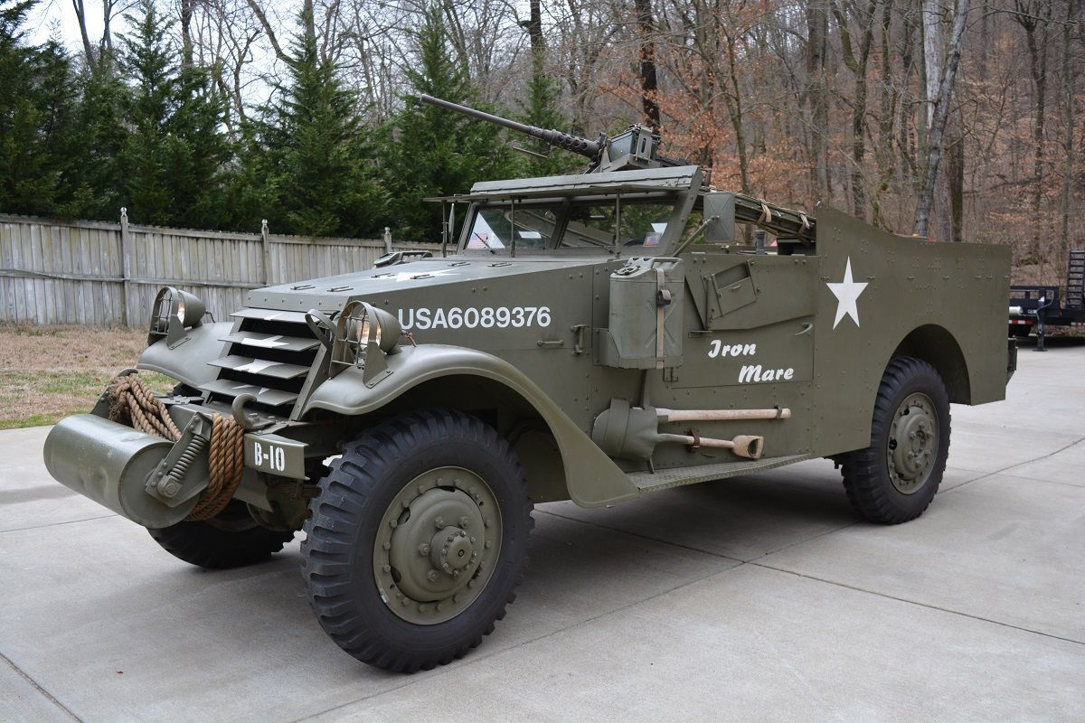 1942 Scout Car M3a1 Restored Runner With Radios Classic Automotive