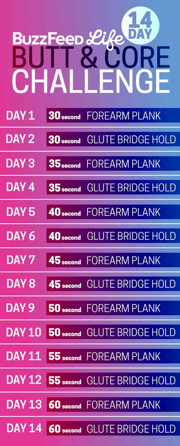 14-Day Bodyweight Workout Challenge