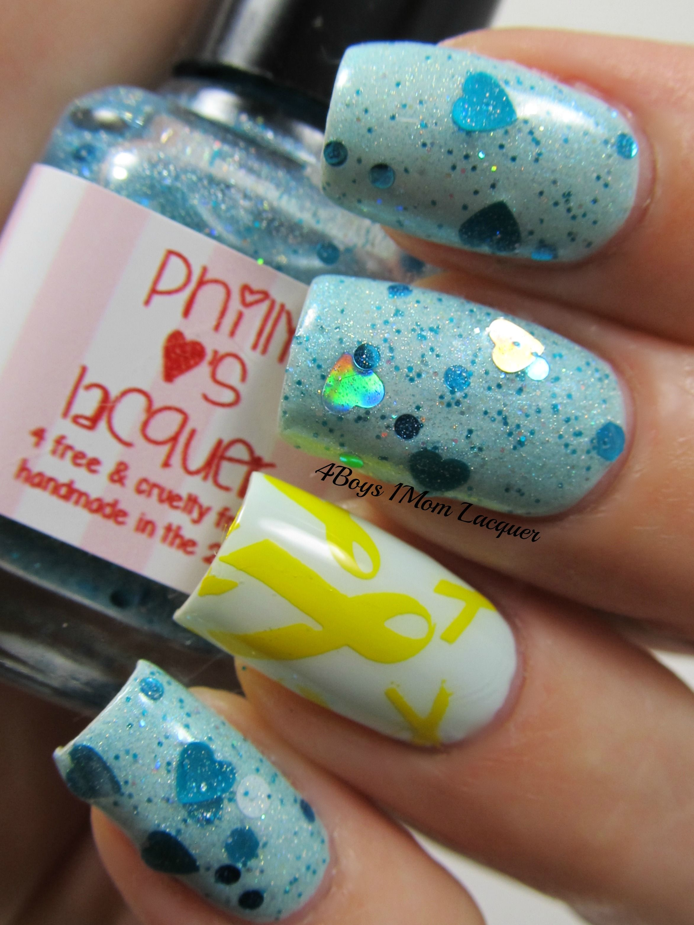 Keep Calm for Neuroblastoma by @Philly Loves Lacquer | My POLISH ...