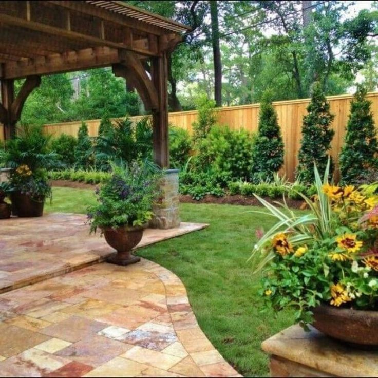 30+ Lovely Backyard Landscape Designs Ideas for Any Season