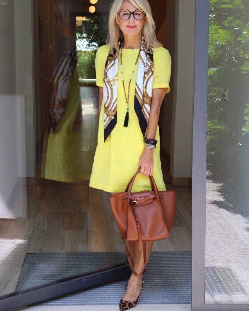 Blogger Bibi Horst disegna il lino in molte varianti. | Esperti di stile per lo styling e anti-invecchiamento 45+