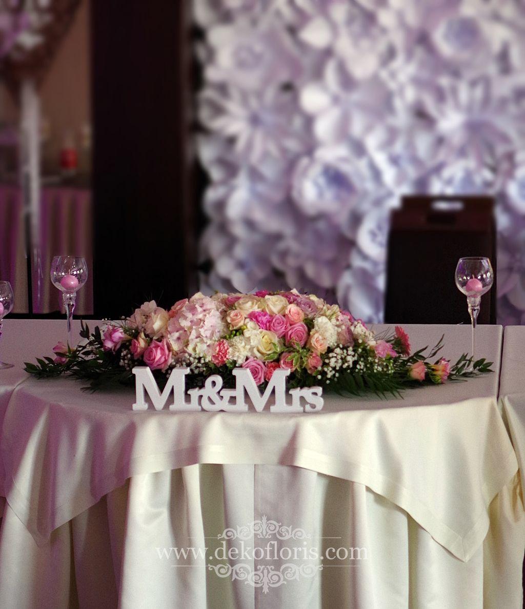 Rozowe Kwiaty Na Stoly Wesele Arkas Proszkow Wedding Table Decorations Crown