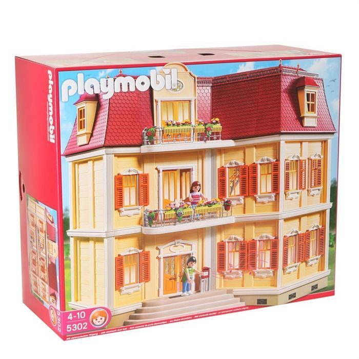 playmobil 5302 maison de ville playmobil. Black Bedroom Furniture Sets. Home Design Ideas