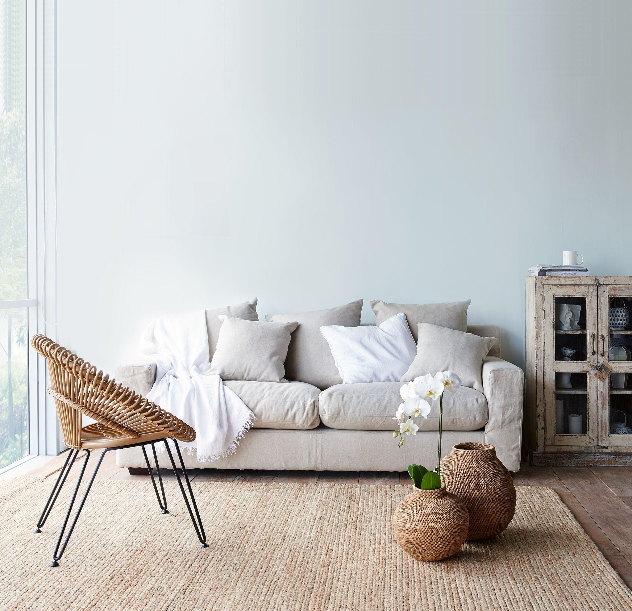 Originals Furniture Cornwall Linen Sofa 3 Seater Vincent