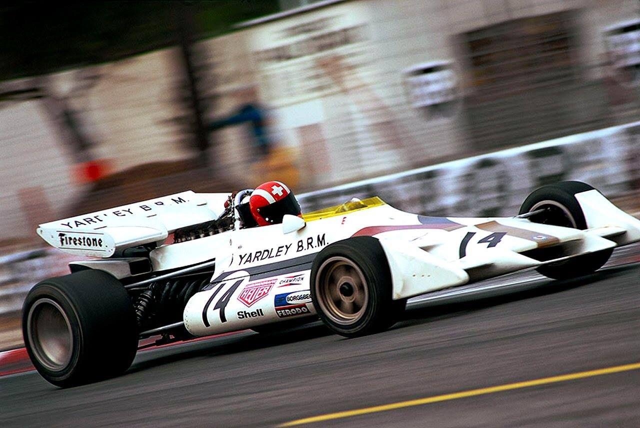 "Historic F1 ""Seppi"" Siffert em Yardley BRM P160, Paul"