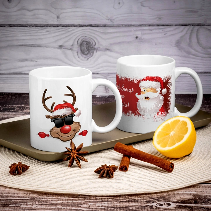Kubek Imienny Prezent Na Swieta Boze Narodzenie Glassware Mugs Tableware