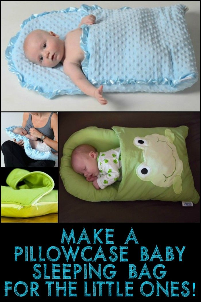 This Pillowcase Baby Sleeping Bag Is A Great Gift Idea For