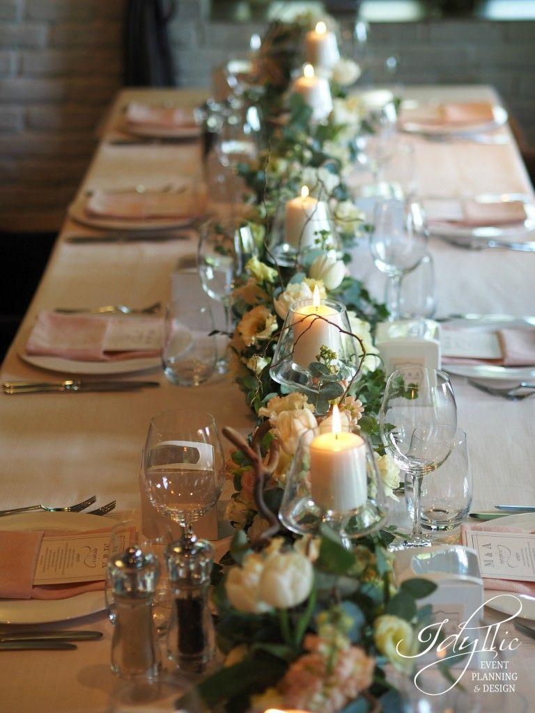 Design Nunta Restaurant Diplomat Bucuresti By Idyllic Events Blush