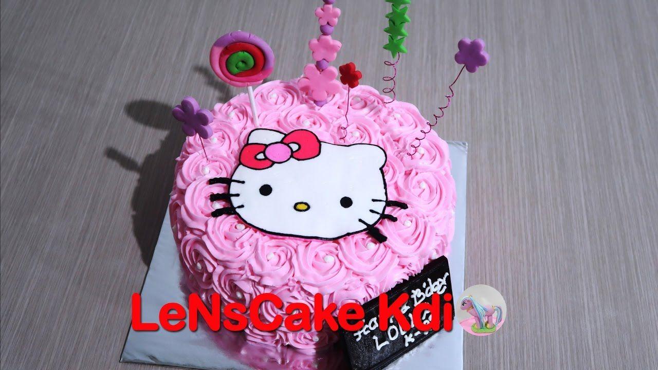 Kekinian Cara Membuat Kue Ulang Tahun Hello Kitty How To