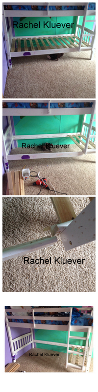 Diy Part 1 Turning A Bunk Bed Into A Loft Bed Fort For My