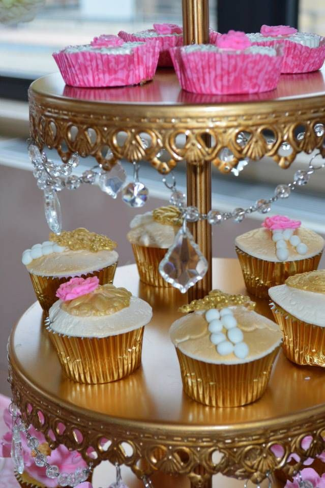 Glam & Chic Princess Baby Shower - Princesses & Tiaras ~ Princess Party Ideas, Princess Themed Events, Princess Party Inspiration & More