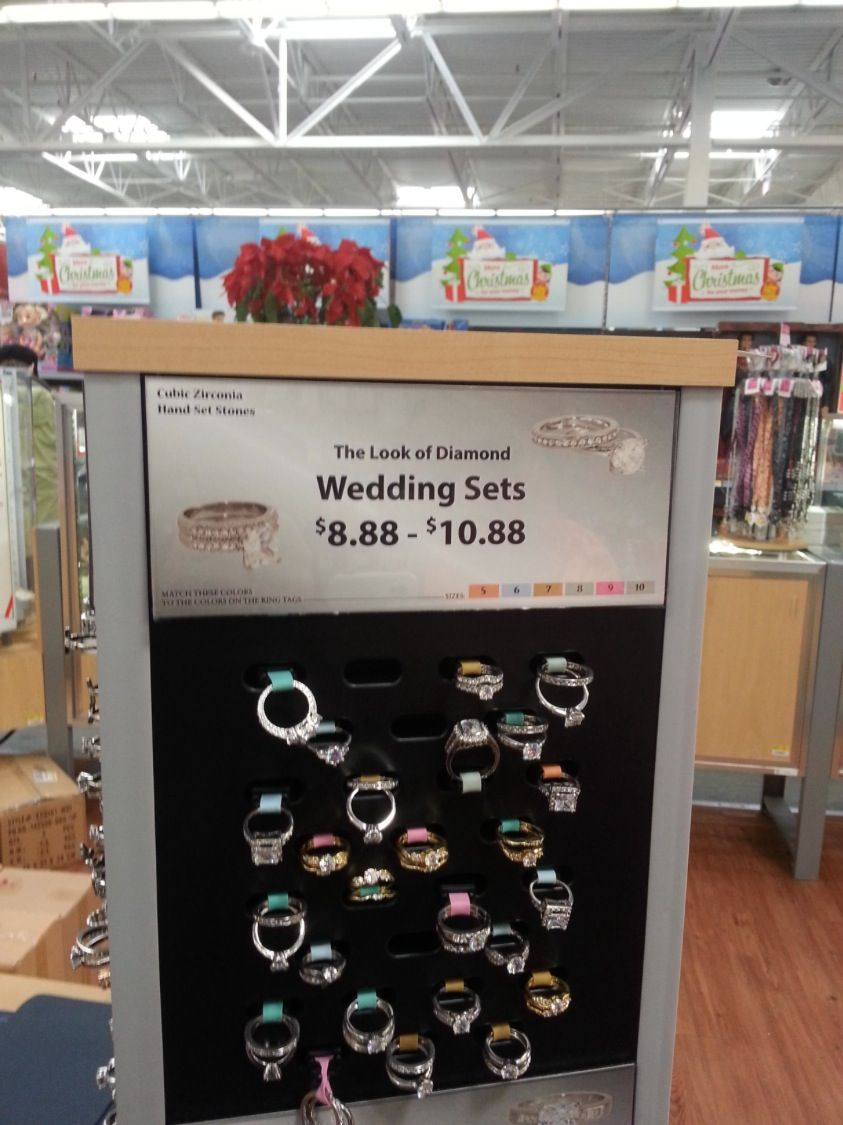 Lowest Prices on Diamond Wedding Ring Sets at Walmart - Wedding ...
