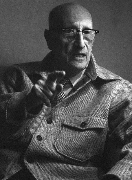 """JORGE GUILLÉN. Poeta español. Perteneciente a la Generación del 27, su lírica ofrece una visión positiva del mundo y es paradigma de la denominada """"poesía pura""""."""