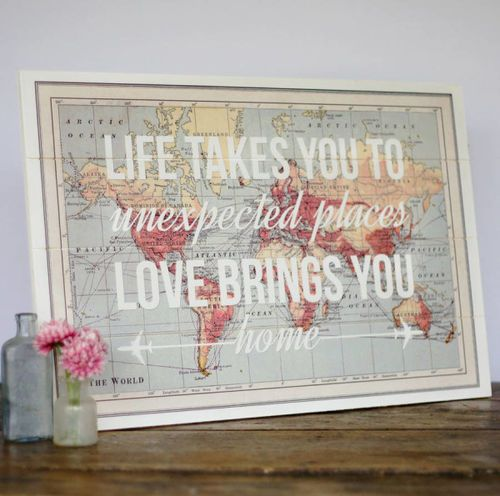 17 Cool Ideas For World Map Wall Art - Live DIY Ideas on imgfave ...