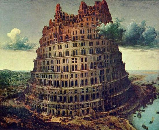 The Tower of Babel: the biggest real estate bubble of the world.