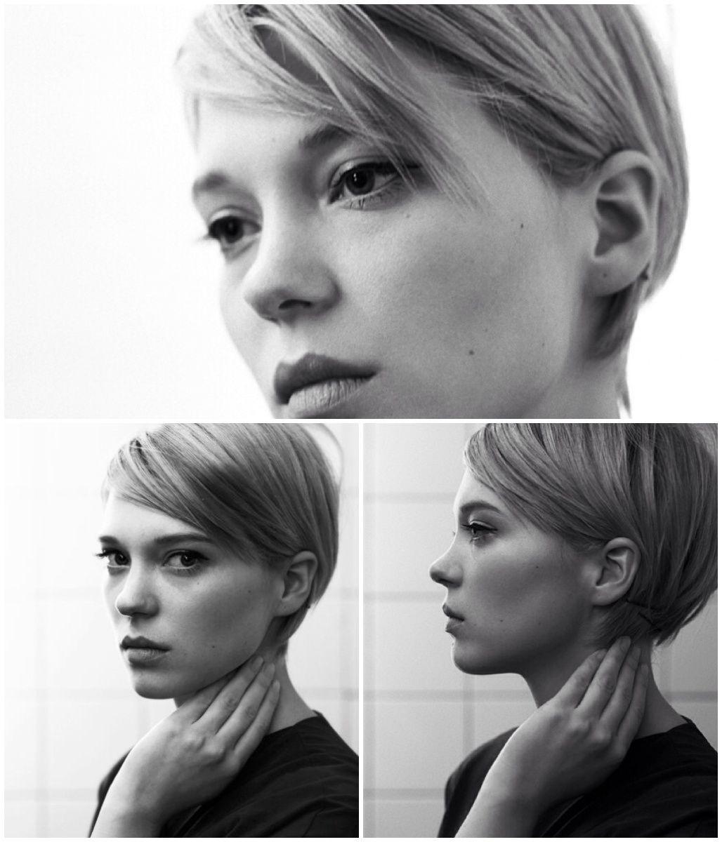 Léa seydoux mirror mirror in hair hair hair pinterest