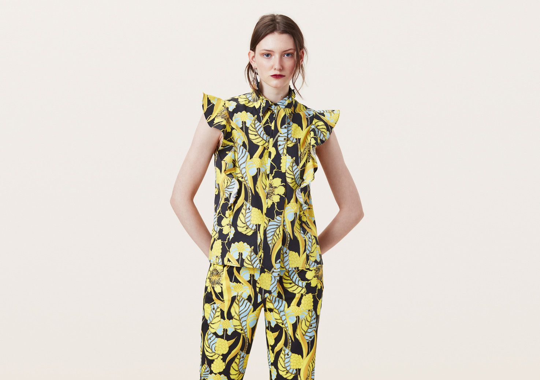 Fashion, Ruffle Shirt, Short Sleeve Dresses