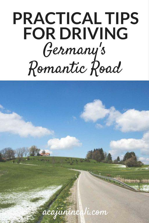 romantic road itinerary romantic road romantic road germany romantic road map the romantic road romantic road route germany road trip driving